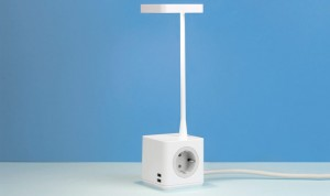 Colebrook Bosson Saunders Cubert led lamp met stroom en USB