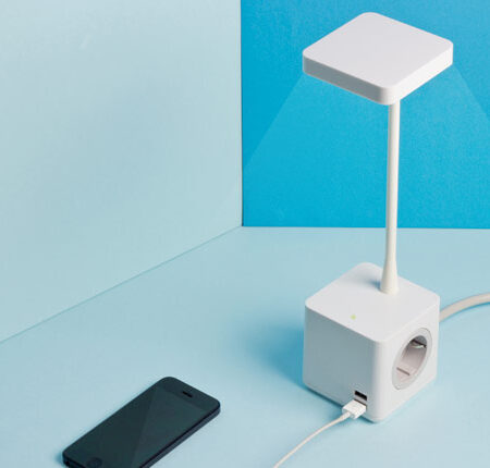 Colebrook Bosson Saunders Cubert lamp