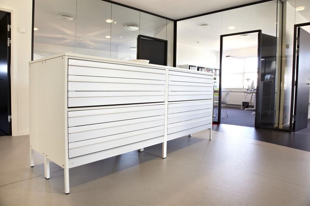 Project meubilair dencon calma storage - Meubilair storage zwart ...
