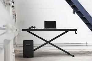Holmris x-table zit-sta bureau