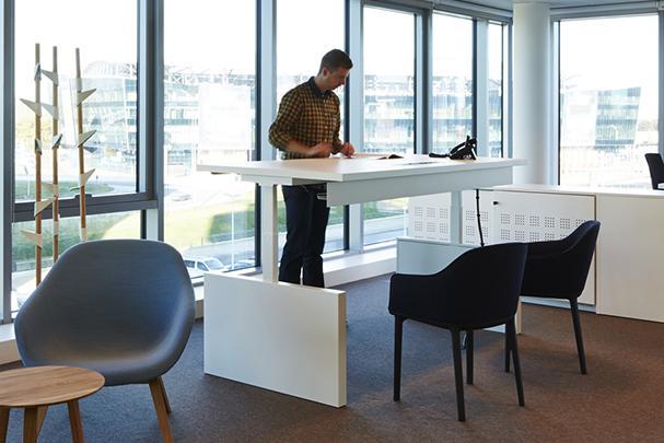 Project meubilair pami zit sta bureau for Bureau zit sta