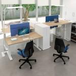 Quadrifoglio Idea+ Sit & Stand zit sta hoekbureau