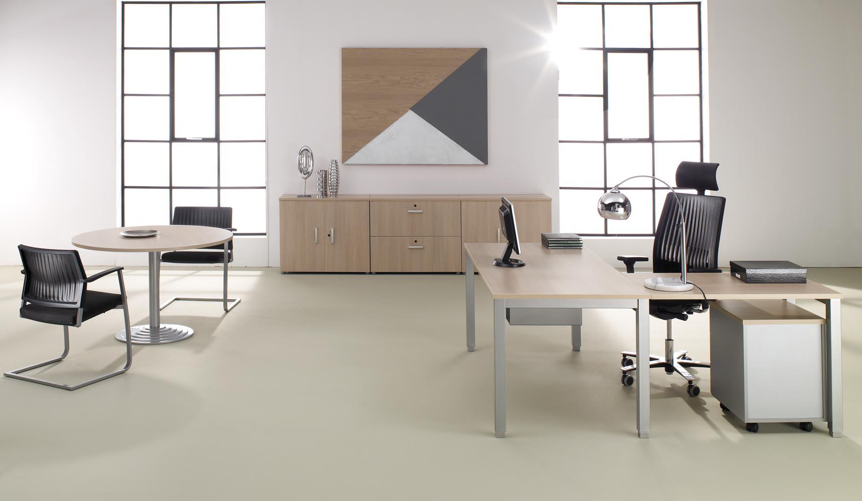 Mobel linea tempo werkplekken project meubilair - Mobiliario oficina coruna ...