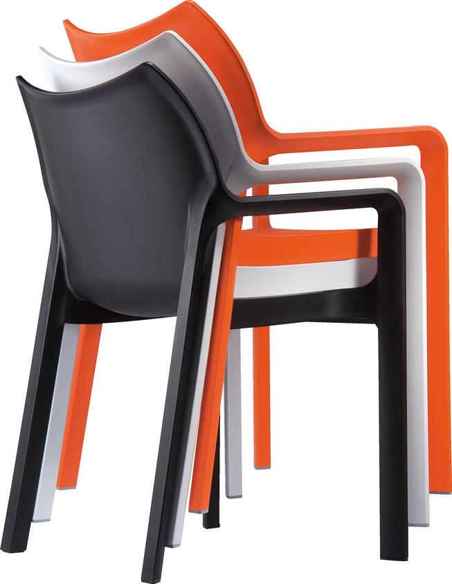 project meubilair siesta diva kantinestoel. Black Bedroom Furniture Sets. Home Design Ideas