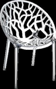 Siesta crystal kantinestoel