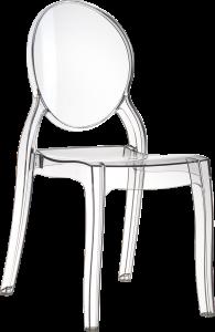 De Siesta Elizabeth eetkamerstoel is een stoel met elegante vormen en zachte kleuren. Elizabeth heeft een vierkante zitting een een ronde rugleuning die vloeiend in elkaar overlopen. Der stoel is geschikt voor zowel binnen als buiten en is kras- en UV bestendig.