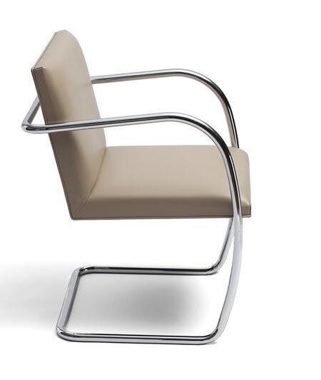 Brno Chair Flat bar en Tubular Knoll Studio | Project Meubilair