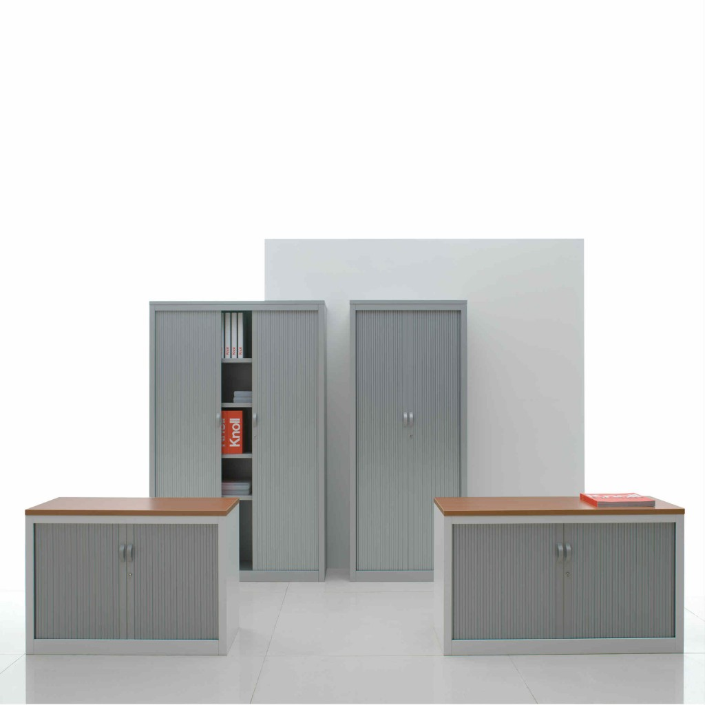 Knoll office kic drawers and tambours project meubilair for Bureau knoll