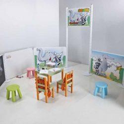 smit visual zeb en olly kidscorner project meubilair