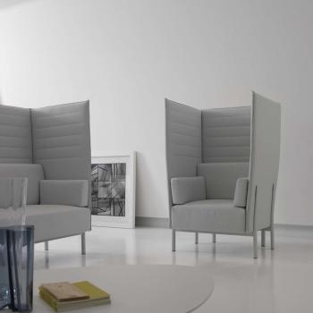Alias eleven highback akoestische sofa project meubilair - Formele meubilair ...