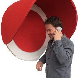 ako panel akoestische telefoonkappen
