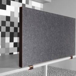 AKO panel akoestisch bureauscherm 48mm