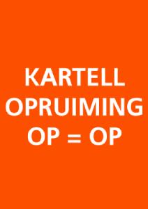 Actie Opruiming Kartell