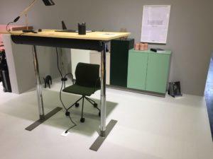 Mitab unit zit-sta bureau