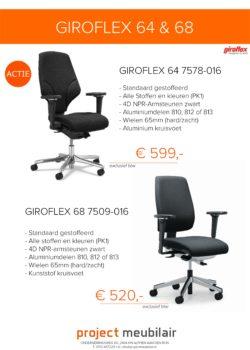 Actie G64 G 68 Giroflex