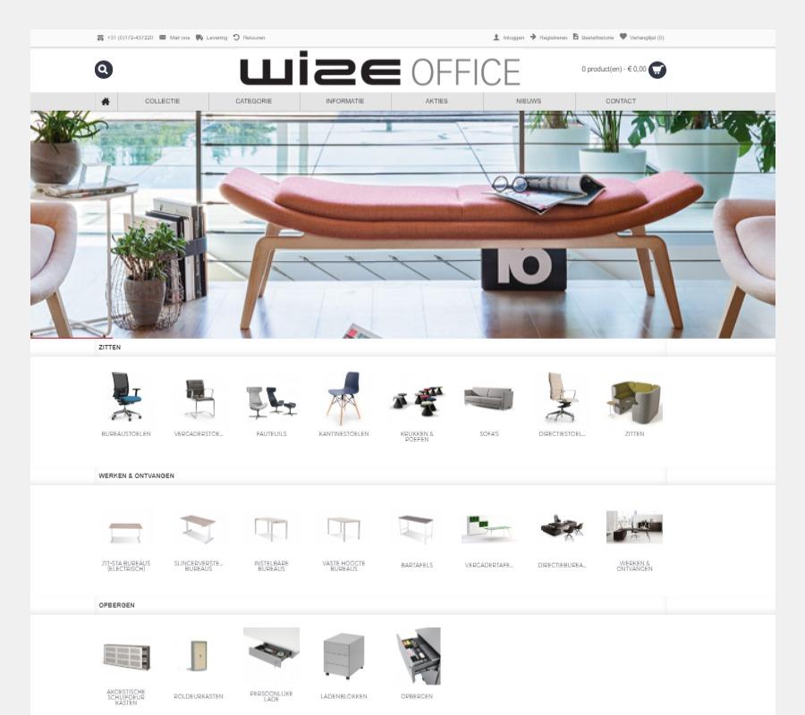 Project Meubilair Wize Office Webshop