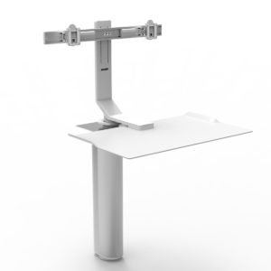 Humanscale QuickStand Under Desk Project Meubilair