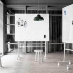 Lintex Mono Mobile Glass board Project Meubilair