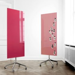 Lintex Mood Mobile Glass Board Project Meubilair