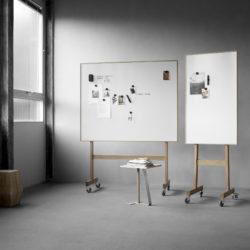 Lintex Wood Mobile Whiteboard Project Meubilair