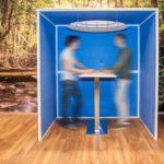 Ako Panel Room in Room akoestisch zitelement Project Meubilair