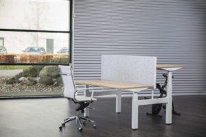 Ako Panel opzetscherm duo desk 48mm Project Meubilair