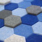 Ako Panel wandpatroon Hexagon akoestische muurdecoratie Project Meubilair