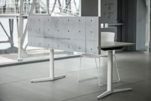 Akuart Acoustic Desk screen Project Meubilair