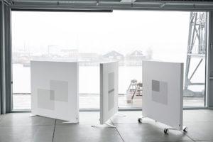 Akuart Akoestic Floor standing Screens Project meubilair