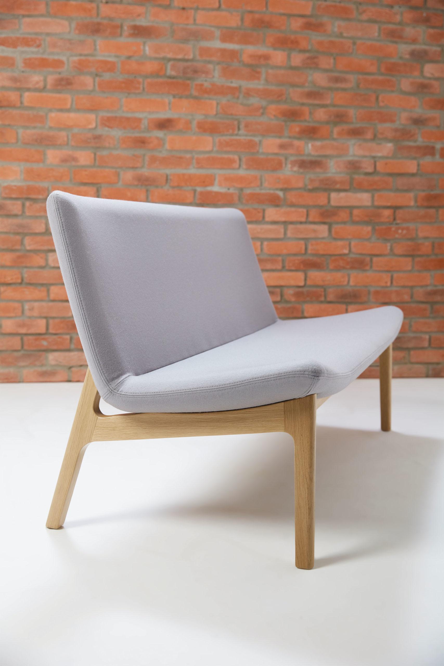 Connection Swoosh sofa's Project Meubilair