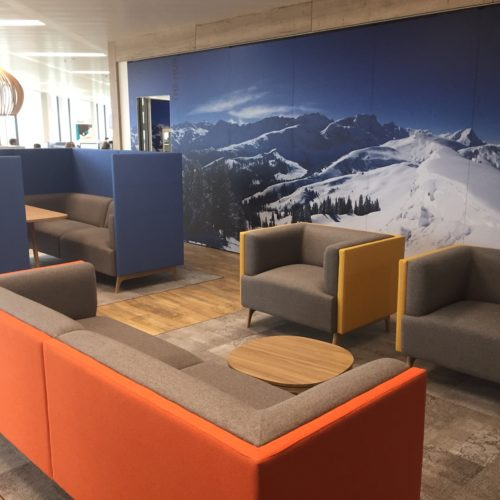 Connection Tryst softseating Project Meubilair