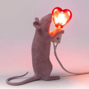 Seletti Mouse Lamp Love Project Meubilair