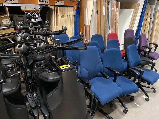Giroflex 64 Corona Aktie Thuiswerken Thuiswerkactie Bureaustoelwerkplek Ocazu Tweedehands