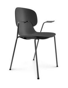 Eva Solo Combo Eetstoel Vergaderstoel Black Zwart Armleuning Projectmeubilair Designstore
