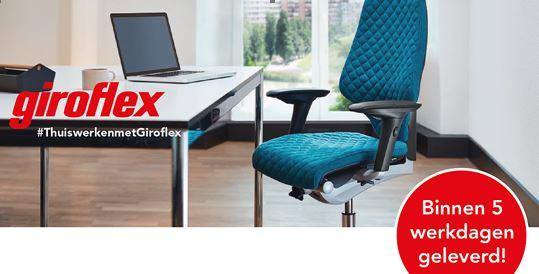 Giroflex Thuiswerken Thuiswerkactie Corona 64 353 545 Projectmebilair designstore