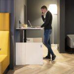 Drentea HomeFit Wit Projectmeubilair Thuiswerken Werkplek