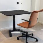 Wize Office Stream 1 Column Zitsta Bureau Desk Thuiswerkplek Projectmeubilair 2