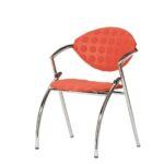 Vepa Drentea 4poot Stoel Alpine Pijnboomgroen Chair Kantoormeubilair Projectmeubilair