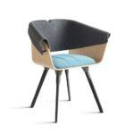 Vepa Drentea Qhale Tail Chair 4pootsstoel Kantoormeubilair Projectmeubilair