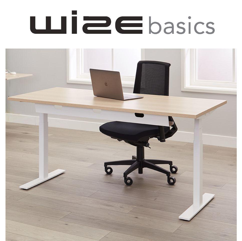 Wize Basics Elektrisch Zit Sta Bureau Thuiswerken Projectmeubilair