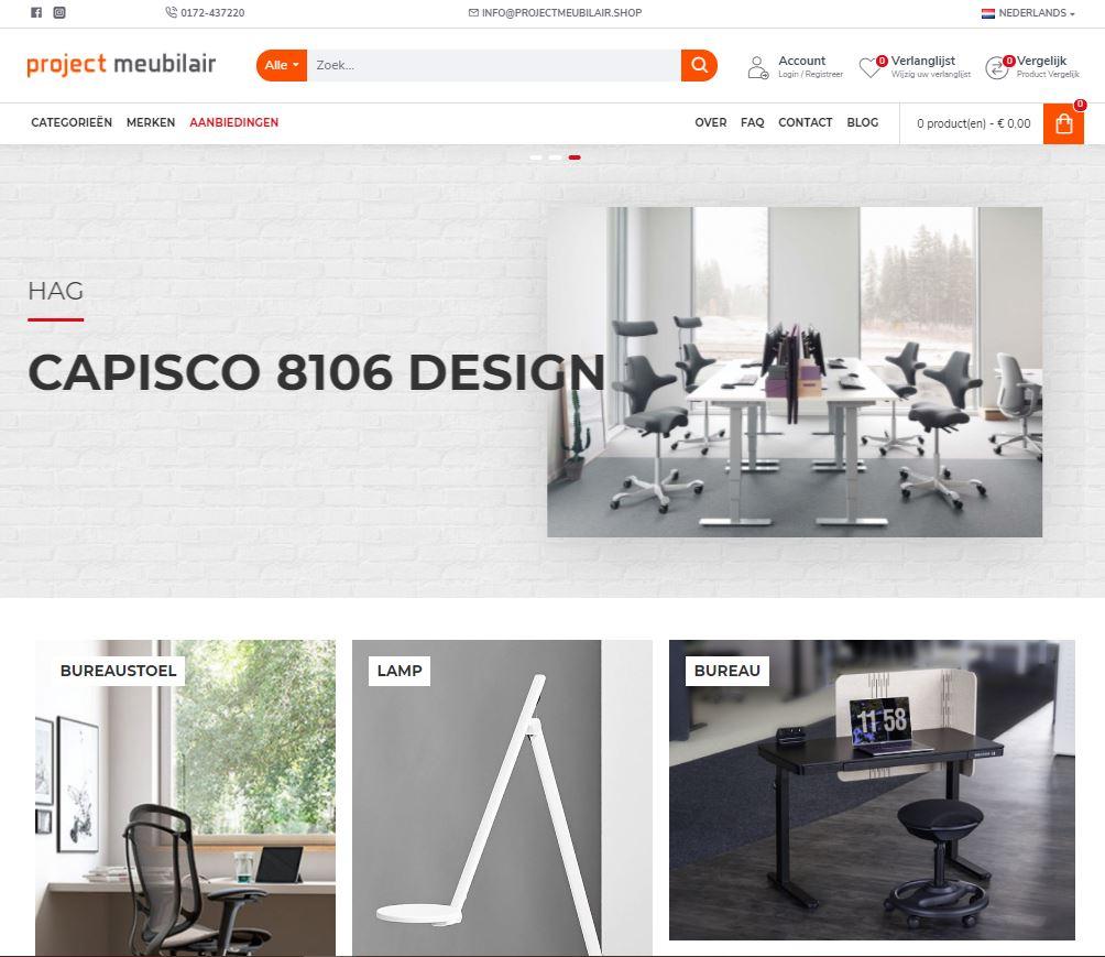 Project Meubilair Shop particulier bureaustoel