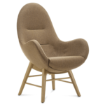 Connection Ark Chair Stoel Hout 4poot Fauteuil Projectmeubilair